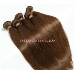 EXTENSIONES COLOR CHOCOLATE LISAS